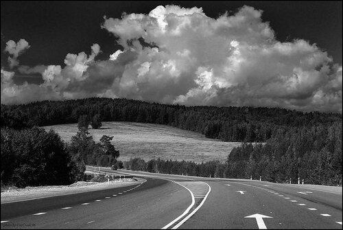 Дорога в небо.