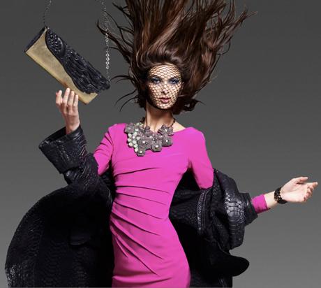 рекламная кампания Catherine Malandrino
