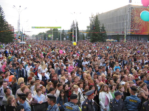 Юбилей города Тамбова. 2006 г.