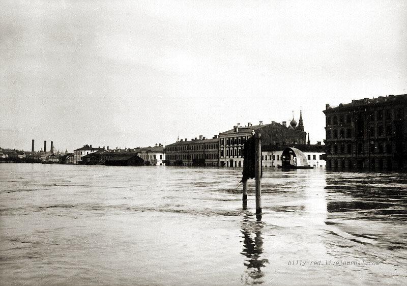 разлив реки Москвы